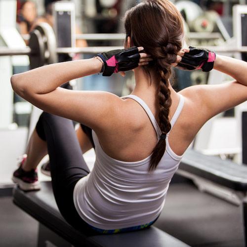 <p>Hitta formen i vårt fina gym, nya moderna maskiner i fräscha lokaler. Boka tid med en av våra instruktörer.</p>